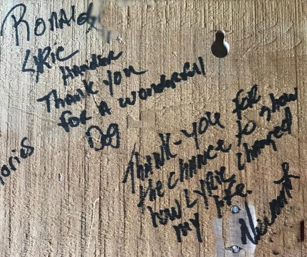 appreciate banquet signatures